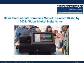 Mobile Retail POS Terminals Market to witness growth at 18% from 2016 to 2024
