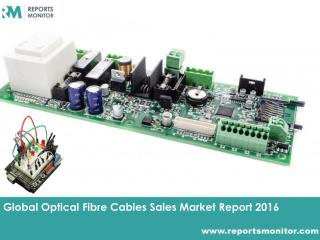 Optical Fibre Cables Sales Forecast