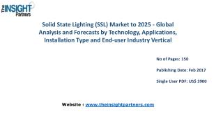 Global Solid State Lighting (SSL) Market Shares, Strategies, and Forecasts, Worldwide, 2016 to 2025 |The Insight Partner
