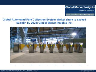 Global AFC Software Market to grow at 10.4% CAGR from 2016 to 2023
