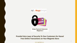 Configure Magento 2 Stripe Payment Module of MageDelight