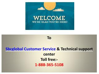 SBCglobal Customer Service Phone Number Technical Support Helpline
