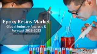 The global market for Epoxy resins is poised to grow from $7980 million to $12880 million for 2015-2022, at a CAGR of 7.