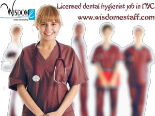 Licensed dental hygienist job in NYC
