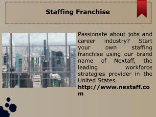 Staffing Franchise