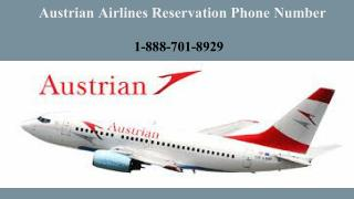 18887018929 Austrian Airlines Ticket Booking| Reservation Phone Number