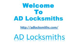Locksmith Solana Beach - AD Locksmiths