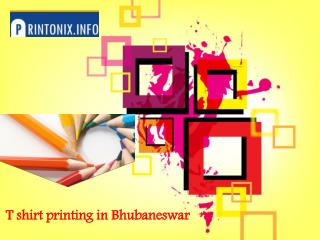 Looking For T Shirt Printing In Bhubaneswar – Check Out These Options
