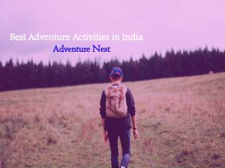 Best Adventure Activities in India