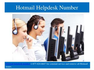 How to create a hotmail email account | Hotmail helpdesk number regarding any Hotmail issues is open 24x7 hours.