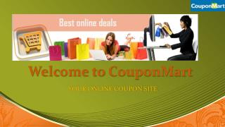 CouponMart- Leading Online Coupon Website in UAE