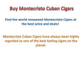 Buy Montecristo Cigars