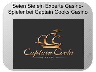 Seien sie ein experte casino spieler bei captain cooks casino