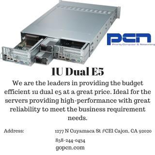 1U Dual E5
