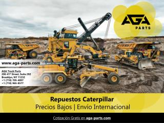 Aga Parts - Repuestos para Maquinaria Caterpillar