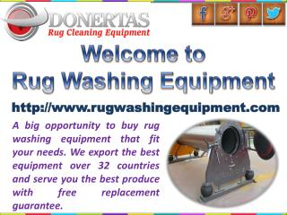Oriental Rug Cleaning Equipment