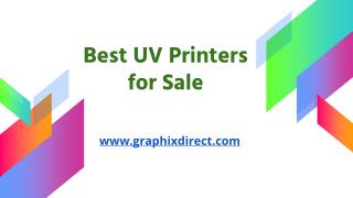 Best UV Printers for Sale