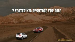 7 Seater Kia Sportage for Sale