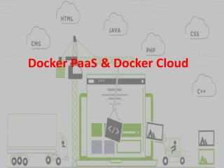More Reasons for Switching to Docker Cloud