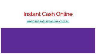 Instant Cash Advance Online