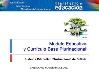 Modelo Educativo  y Curr culo Base Plurinacional