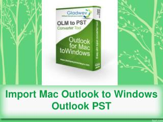 Outlook Mac Export PST File Download
