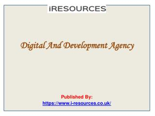 Digital And Development Agency