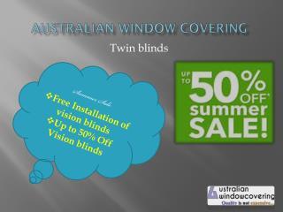 Vision blinds - summer offer