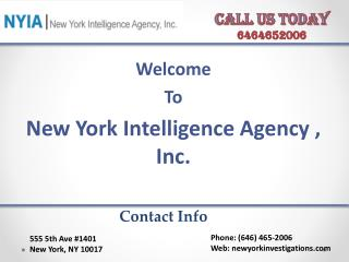 Best private investigator in NYC