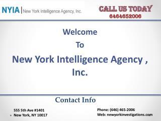 Best private investigator in NYC