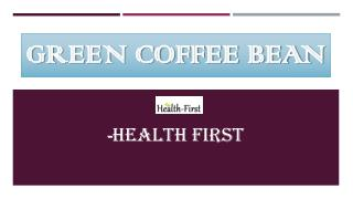 Green Coffee Bean Best Weight Loss Supplements Online