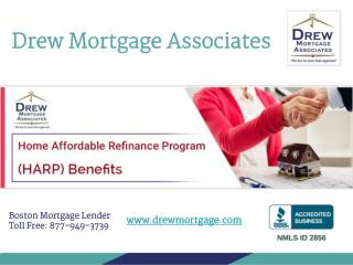 Benefits of Home Affordable Refinance Program (HARP)