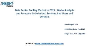 Global Data Center Cooling Market Analysis, Revenue and Key Industry Dynamics 2016-2025