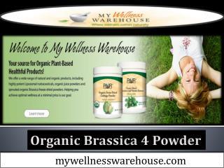 Organic Brassica 4 Powder