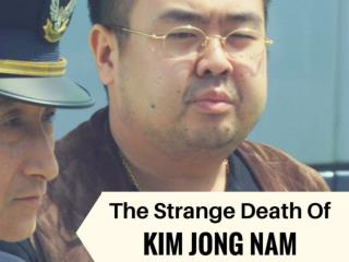 The strange death of Kim Jong Nam