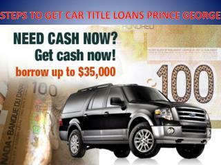 car title loans prince george