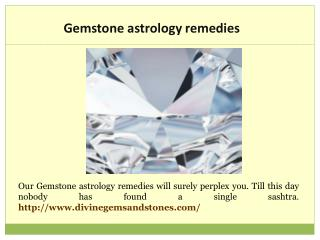 Astrological Gem Analysis