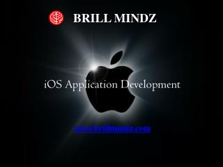 iOS Apps Development In Bangalore at Brill Mindz technology
