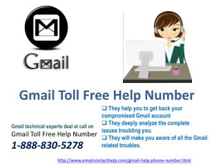 Gmail Help Phone Number  @1-888-830-5278  can be called anytime