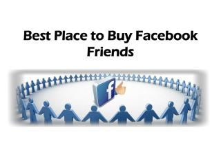 Best Place to Buy Facebook Friends