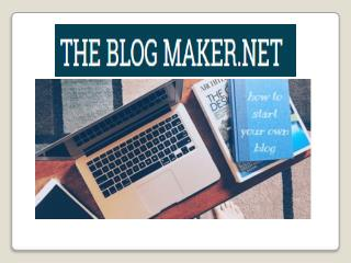How to Make Your Own Blog - create new Blog site