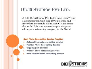 Photo retouching company - Digi5 Studios