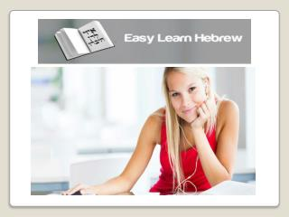 Easy Learn Hebrew -How Do You Read Hebrew