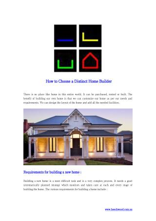 Selecting A Reliable Home Builder in Adelaide