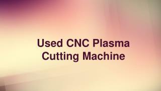 Used CNC Plasma Cutting Machine | Cluemachine.com