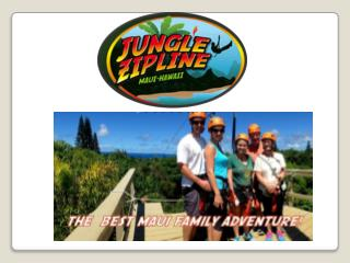 Maui Zipline Tours-Jungle Zip