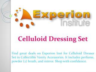 Celluloid Dressing Set
