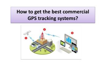How to get the best commercial GPS tracking systems?