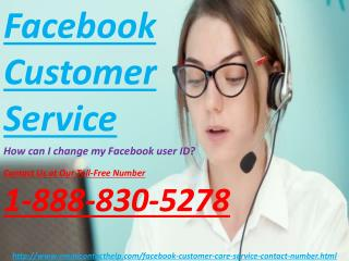 Facebook account related issues Call Facebook Customer Service 1-888-830-5278