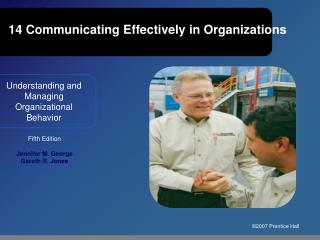 14 Communicating Effectively in Organizations